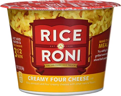 12 Pack Rice a Roni Cups, Individual Cup 2.25 Ounce