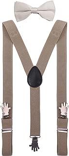 bow tie suspenders wedding