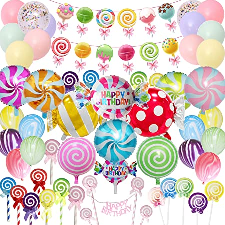 My Sweet candy Lunch plates  candy theme  candy  treats  sweet candy party  lunch plates