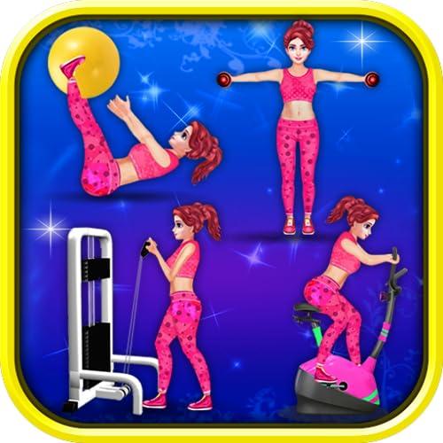 Gym Workout - Women Exercise Game