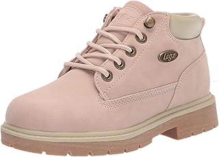 Lugz Women's Drifter LX Classic Memory Foam Chukka Fashion Boot, Soft Pink/Cream/Gum, 6.5