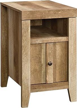 Sauder Dakota Pass Side Table, Craftsman Oak finish
