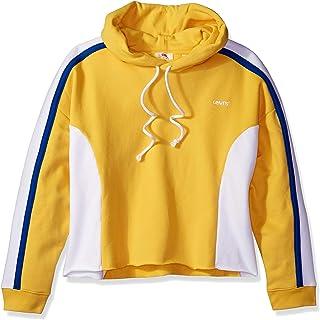 Levi's Women's Plus Size Sport Short Crew Sweatshirt, Color Block Sweatshirt