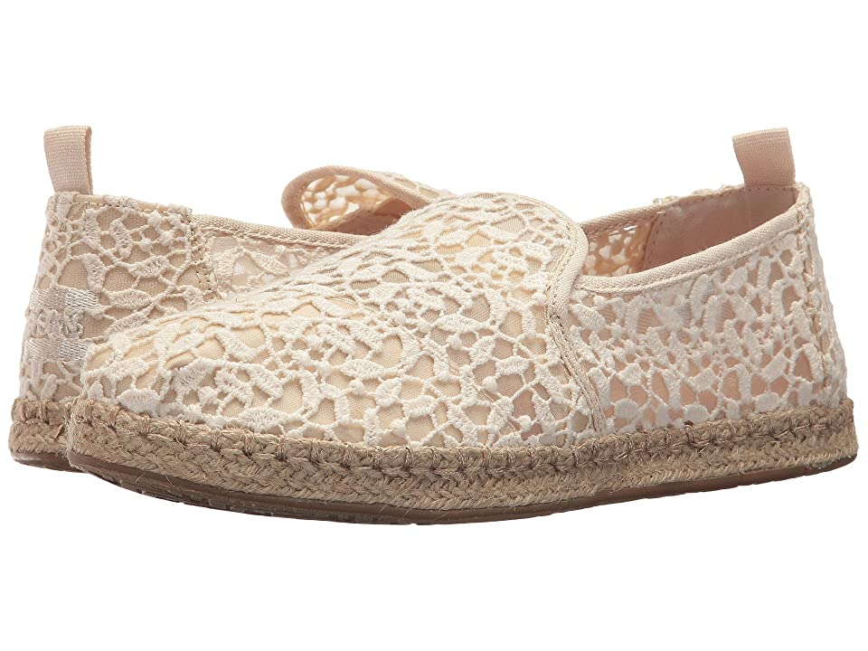 TOMS Deconstructed Alpargata Rope (Natural Lace Leaves) Women