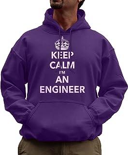 Unisex Keep Calm I 'm un Ingeniero proffession Funny Sudadera con Capucha