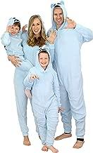 Secret Santa Matching Family Onesie Pajama Holiday Yeti Snowman Union Suit (Mens Yeti for Bed, Large)