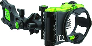 IQ Bowsights Pro 5 Pin Compound Bow Archery Sight with Retina Lock Technology, Left Hand