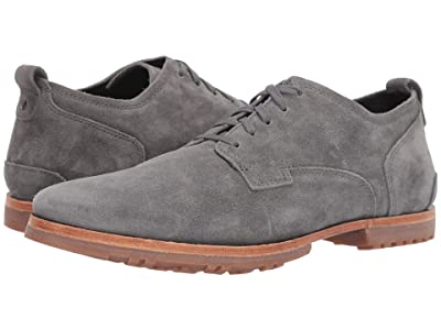 Timberland Boot Company Bardstown Plain Toe Oxford (Medium Grey Suede) Men