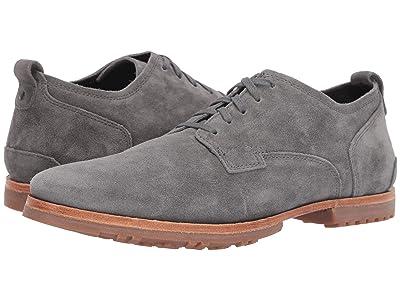 Timberland Boot Company Bardstown Plain Toe Oxford (Medium Grey Suede) Men