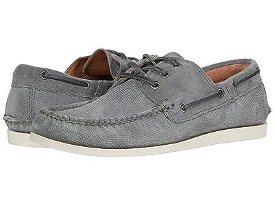 Frye Briggs Boat Shoe (Steel Diamond Suede) Men