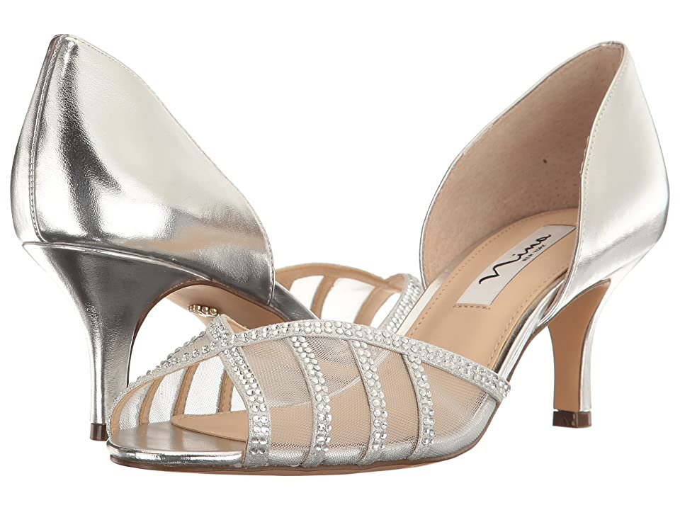 Nina Corita (Silver/True Silver) High Heels