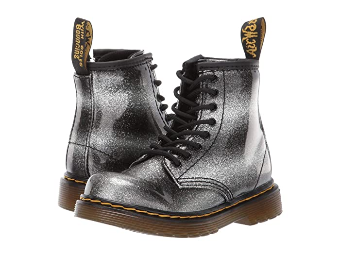 52b55736a03d Dr. Martens Kid's Collection 1460 Patent Glitter Brooklee (Toddler ...