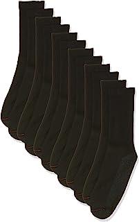 Hanes mens 6-Pack Fresh IQ Cushion Crew Socks (pack of 6)