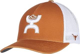 NCAA Texas Longhorns Men's Hooey Lazuli Cap, Small/Medium, Orange/White