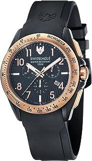 Swiss Eagle - Reloj para Hombre de Cuarzo con Correa en Silicona SE-9061-05