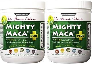 Mighty Maca Plus - Delicious, All-Natural, Organic Maca Superfoods Greens Drink, Allergen & Gluten Free, Vegan, Powder … (2)
