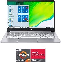 """Acer Swift 3 Laptop, 14"""" Full HD 1080p, AMD Ryzen 5 4500U Hexa-Core Processor, 8GB RAM, 256GB SSD, Fingerprint Reader, Bac..."""