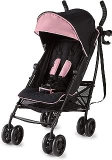 Summer 3Dlite+ Convenience Stroller, Pink/Matte Black