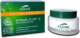 50 ml Crema Facial de Aloe Vera Hydraplus con Filtro SPF 15. Con Aceite de Aguacate y Rico en Vitamina E. Aloe Vera de Cul...