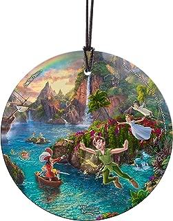 Trend Setters Disney Peter Pan's Neverland Starfire Prints Hanging Glass