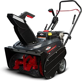Briggs & Stratton 1696506 Single Stage Snow Thrower with Snow Shredder Technology and..