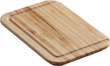 لوح تقطيع من الخشب الصلب K-3294-NA من كوهلر يناسب حوض الاستحمام الأمامي إلى الخلف، بني - 84612