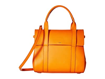 Shinola Detroit Small Soft Satchel Nappa (Colorado Or) Satchel Handbags