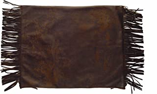HiEnd Accents Western Faux Leather Placemat, Set of 4