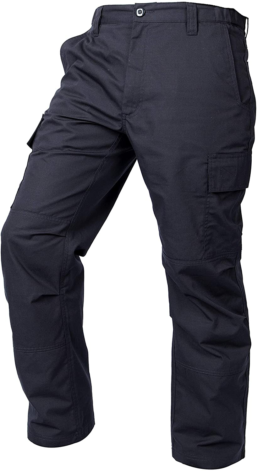 LA Police Gear Mens Core Cargo Lightweight Work Pant: Clothing