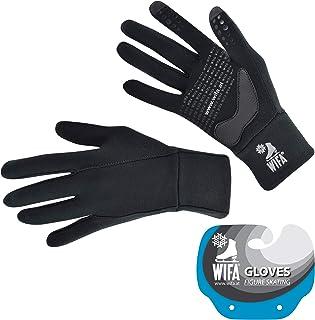 WIFA Handschuhe für Kür Eissport Eiskunstlauf Radfahren Laufen Wandern -Touchscreen - für Kinder und Erwachsene