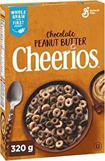 Cheerios Chocolate Peanut Butter, Naturally Flavoured, 320g {Imported from Canada}