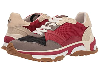 COACH C143 Runner (Red Multi) Men