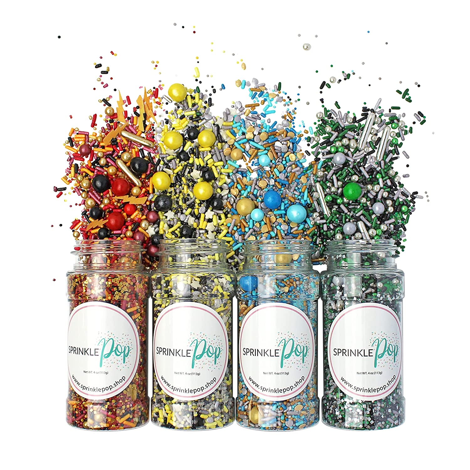 The Wizarding Set 4 Magical Max 81% OFF Ranking TOP4 Colorful Candy Sprinkles For Ba Mix