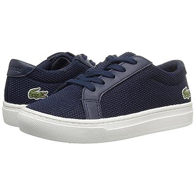Lacoste Kids L.12.12 (Little Kid) (Navy) Kids Shoes