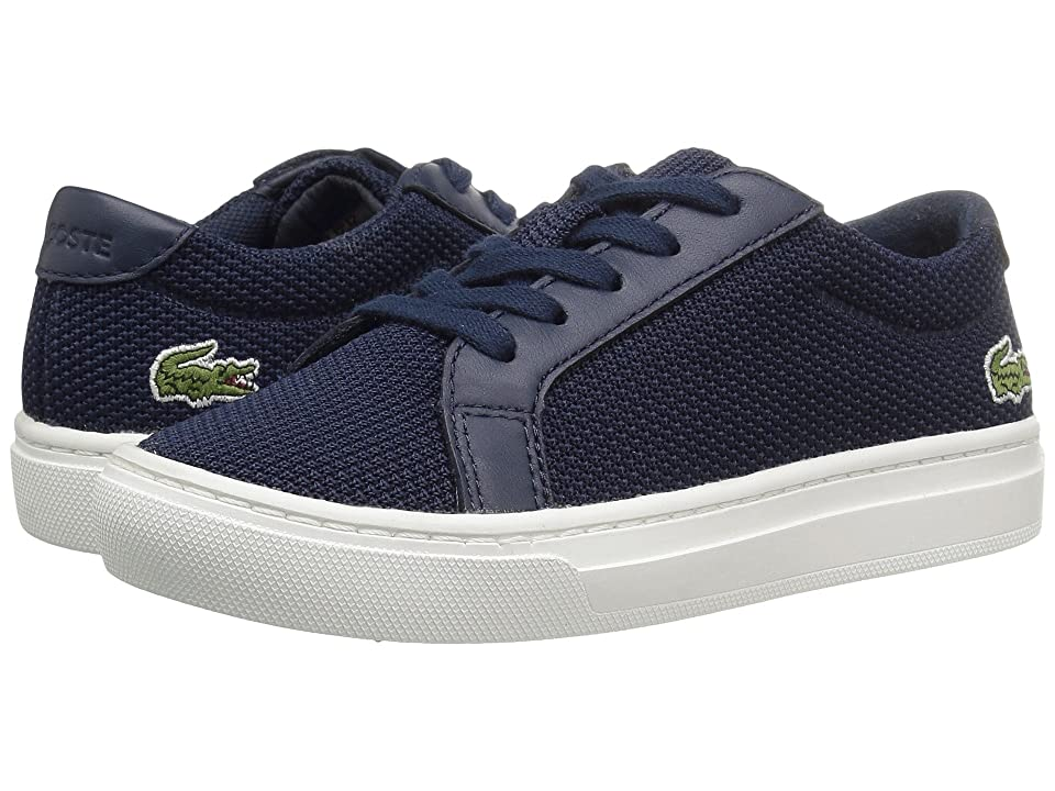 Lacoste Kids L.12.12 (Little Kid) (Navy) Kids Shoes
