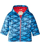 Hatley Kids - Rocket Ships Splash Jacket (Toddler/Little Kids/Big Kids)