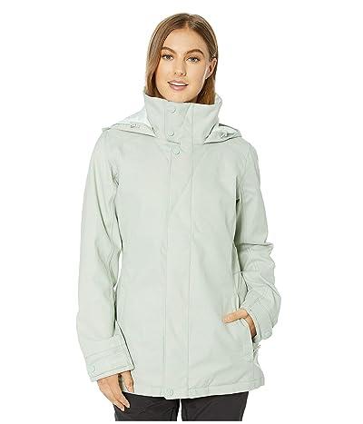 Burton Jet Set Jacket (Aqua Gray) Women
