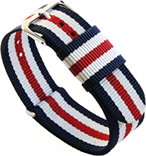 Best Ballistic Nylon NATO Style Straps - Choice of Color, Length & Width (18mm, 20mm, 22mm or 24mm) Reviews