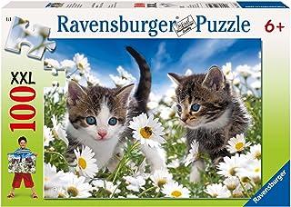 H.L Ciotole per Gatti Sollevate Pet Bowl Elevated Cat Feeder Piatto Inclinato per Gattini con Fondo Antiscivolo E Dispenser per Lacqua di Base Forniture per l'istruzione