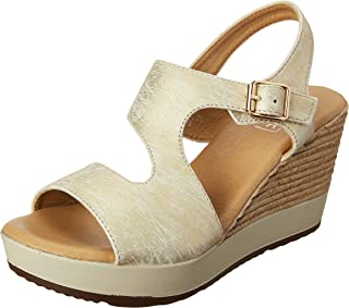 Club Aldo Slingback Cut-Out Wedge Sandals for Women