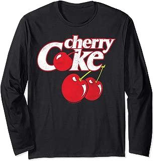 Coca-Cola Cherry Coke Logo Long Sleeve T-Shirt