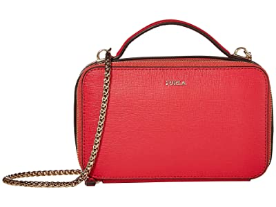 Furla Babylon Medium Crossbody (Fragola) Handbags