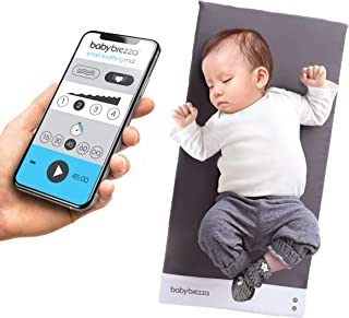 Baby Brezza Sleep and Soothing Smart Soothing Mat - Vibrating Baby Mat/Soother Pad Aides in Calming Fussy Baby for Easier ...