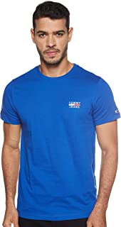 Tommy Jeans Mens Tjm Chest Logo Tee T-Shirt (pack of 1)