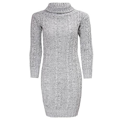 222871d8e444 Plus Size Knitted Dresses  Amazon.co.uk