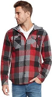 Men's Lightweight Plaid Flannel Shirt