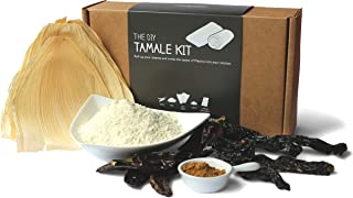 DIY Tamale Kit - Dried Chilies, Masa, Corn Husks, Detailed Instructions
