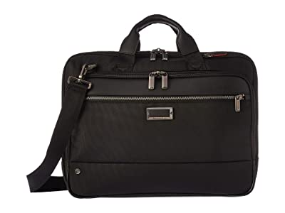 Briggs & Riley @work Medium Brief (Black) Briefcase Bags