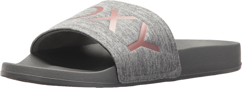 Roxy Womens Slippy Textile Slide Sandal Sport