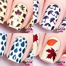 Best leaf nail stencil Reviews